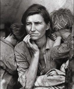 Dorothea Lange en la Gran Depresión