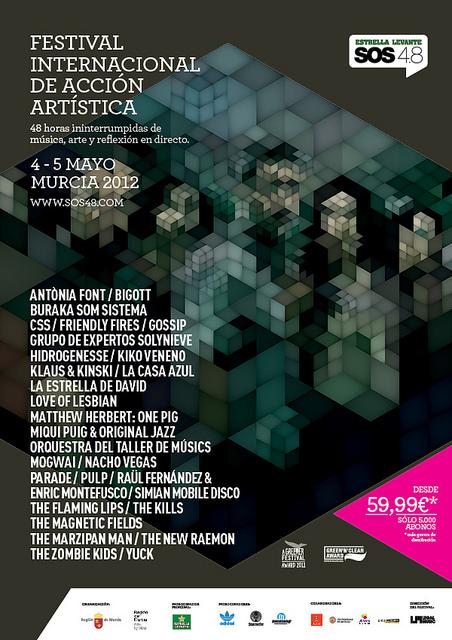 Festival SOS 4.8, maratón de arte en Murcia
