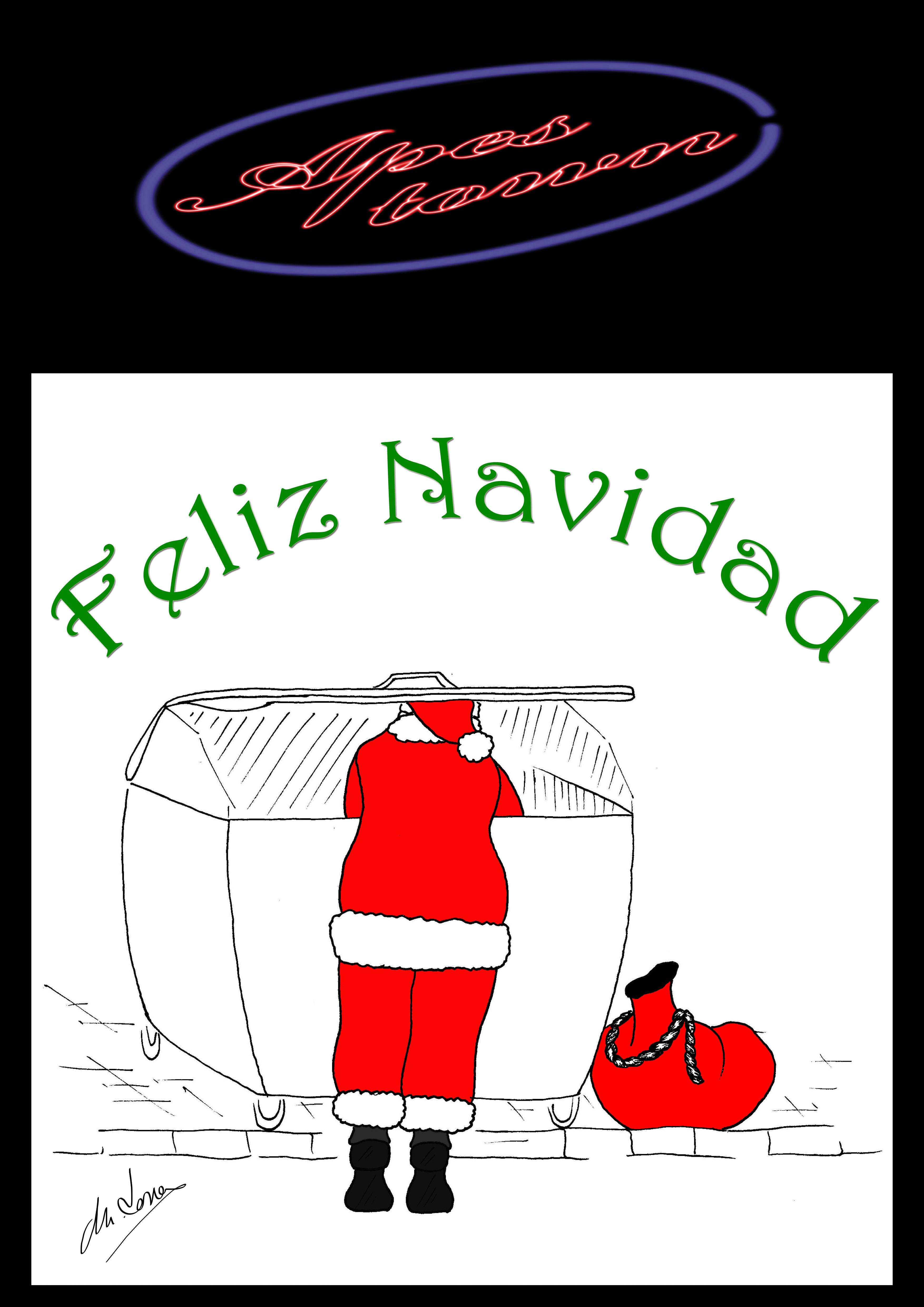 Feliz Navidad por Miguel Torres