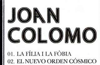 Redescubriendo a Joan Colomo
