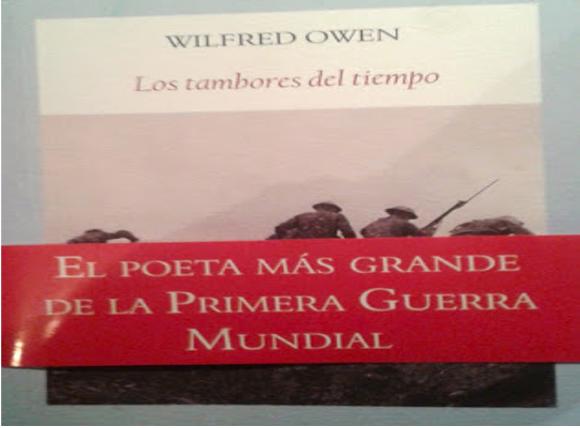 Los tambores del tiempo de Wilfred Owen