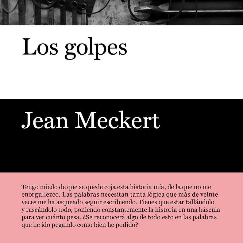 Los golpes de Jean Meckert