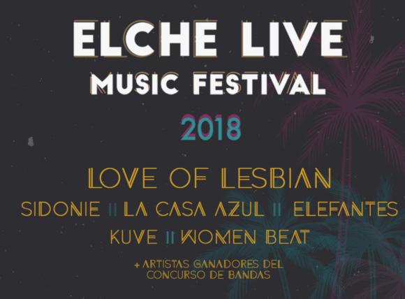 Tercera Edición de Elche Live Music Fest: continuamos
