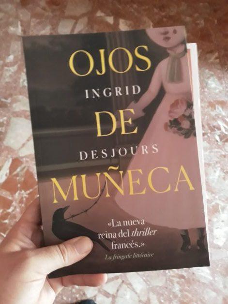Ojos de muñeca de Ingrid Desjours