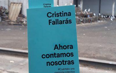 Ahora contamos nosotras de Cristina Fallarás