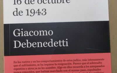 16 de octubre de 1943 de Giacomo Debenedetti