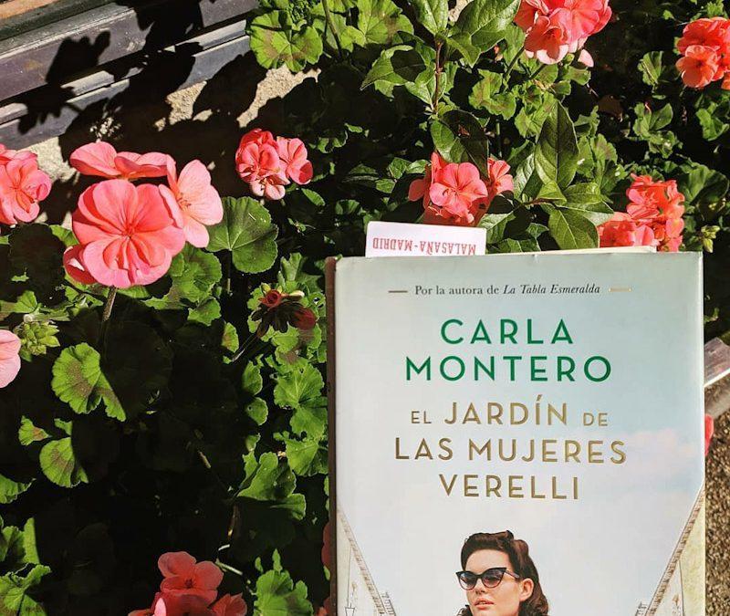 El Jardín de las Mujeres Verelli de Carla Montero