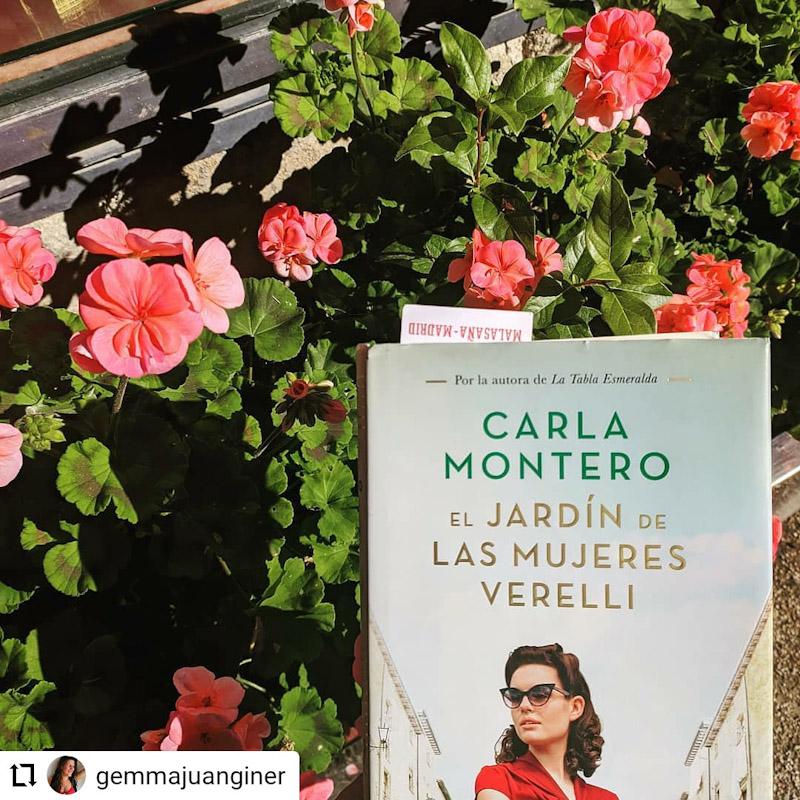 El Jardín de las Mujeres Verelli, de Carla Montero