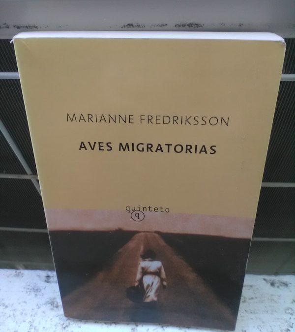 Aves migratorias de Marianne Fredriksson