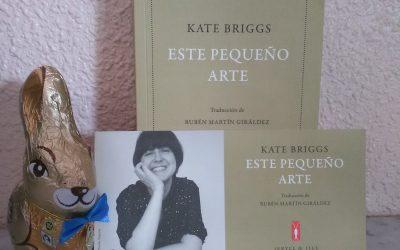 Este pequeño arte de Kate Briggs