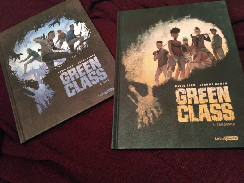 Green Class 1 Pandemia y Green Class 2 Alfa de David Tako y Jérôme Hamon