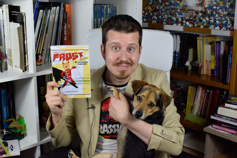 Frost, perrito de aventuras: El secuestro espacial, de Doc Pastor